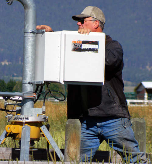 Irrigation Repair at the Flying AJ Ranch