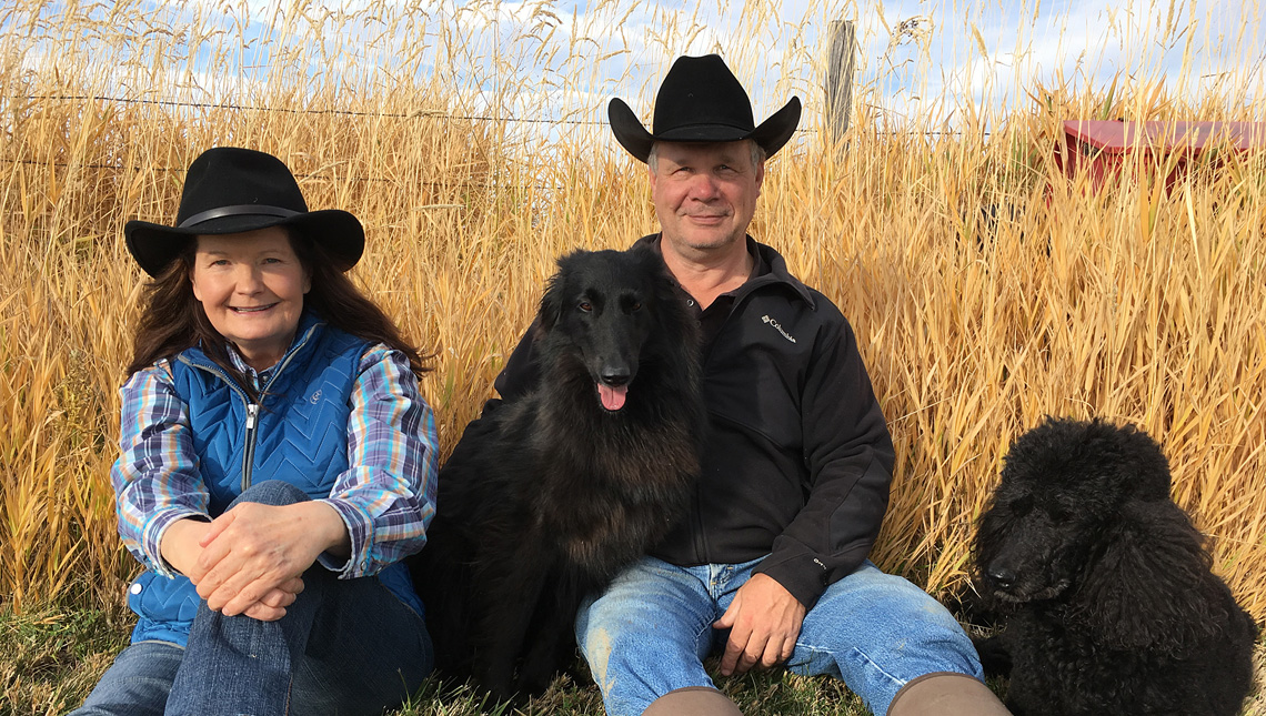 Flying AJ Ranch in Stevensville, Montana - breeder of the best registered black angus
