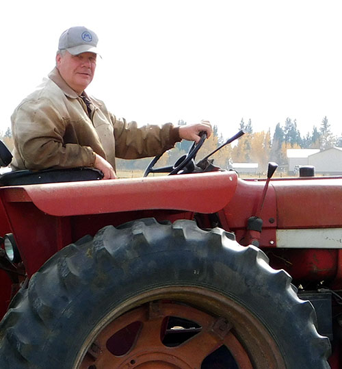 Arlin Fratzke of Flying AJ Ranch, Stevensville, MT